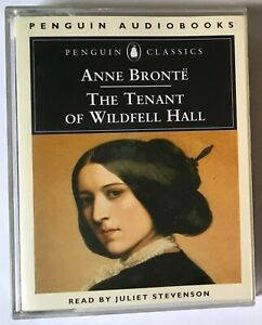 Audio Book ANNE BRONTE The Tenant of Wildfell Hall - Juliet Stevenson on 2 cass