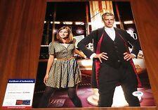 Peter Capaldi & Jenna Coleman Signed 11x14 Doctor Who Clara PSA/DNA
