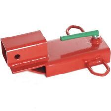 Titan Attachments Forklift Hitch Receiver Clamp On Steel 3000 Lb Capacity
