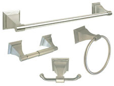 Brushed Nickel Bath Accessories Set Bath Accessories Towel Bar Bathroom Hardware