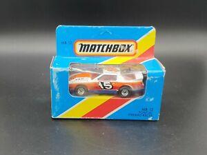 Matchbox Superfast Pontiac Firebird MB12 1:64 Scale Diecast Model Car Blue Box