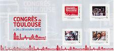 Bloc collector autoadhésif Congrès du PS à Toulouse 2012