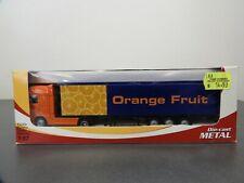 JOAL, ORANGE FRUIT TRUCK, DAFXF 105,  DIECAST, 1/87 SCALE, 503