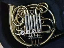 More details for double french horn, gear for music, needs servicing