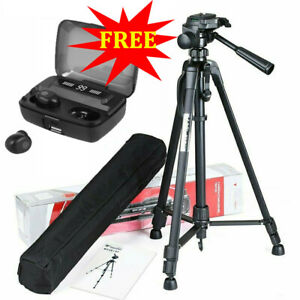 Professional Camera Tripod Portable Holder Stand For DSLR Camcorder Phone