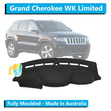 Jeep Grand Cherokee WK Limited (2012-Current) - Dash Mat - Black - Fully Moulded