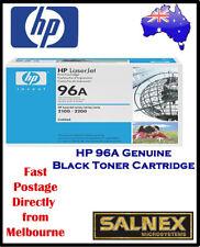 3x HP 96A Genuine Black Laser Toner Cartridge For 2100, 2200 Printers PN:C4096A)