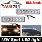 2pcs White Spreader Led Deckmarine Waterproof Light For Boat Spot Lamp 12v 24v