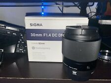 sigma 30mm 1.4 micro four thirds w/ e mount adapter