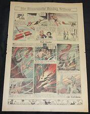 Vintage Golden Age ALEX RAYMOND NEWSPAPER COMIC 1pc Flash Gordon Jungle Jim