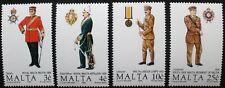 Maltese uniforms, (4th series) stamps 1990, Malta, SG ref: 880-883, 4 stamps MNH