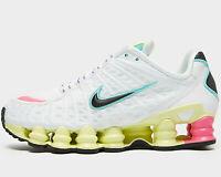 ⚫2020 Genuine Nike Shox TL Women ® ( UK Size  6  EUR 40 ) White / Lemon Yellow