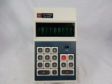 Early 70´s Vintage Calculator calculatrice privilège NB 800 + Manual & Case