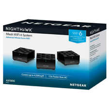 Netgear Nighthawk AX1800 Whole Home Mesh WiFi 6 System 3-Pack NEW Free Ship USA