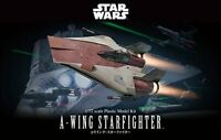 Bandai Hobby Star Wars A-Wing Starfighter 1/72 Scale Model Kit USA Seller