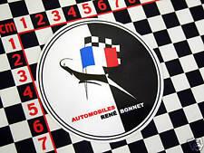 Rene Bonnet Autocollant Matra Djet Le Mans Matra-Bonnet