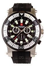 """Swiss Military CALIBRE Armbanduhr """"HAWK"""" Herrenuhr Herren Uhr Schwarz Chrono NEU"""