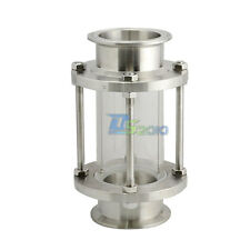 """2.5"""" 63MM  Flow Sanitary Sight Glass Tri Clamp Type Stainless Steel SS316 New"""