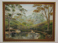 Vintage Original Oil Painting On Board Signed, By D. Lynn