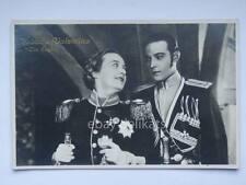 RODOLFO VALENTINO The Eagle cinema muto silent movie attore vecchia cartolina