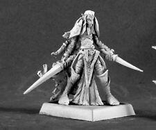 Dark Elf Warrior Darkreach Warlord Reaper Miniatures Ranger Fighter Melee Swords