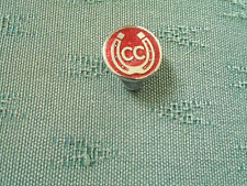 OLD CARAVAN CLUB - ENAMEL LAPEL BUTTONHOLE BADGE - BUTLER