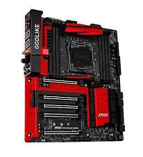 MSI X99A GODLIKE GAMING Desktop Motherboard X99 E-ATX 8 DDR4 X99AGODLIKEGAM