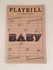 Playbill Baby 1983 Liz Callaway Souvenir Theater Booklet Ethel Barrymore Theatre
