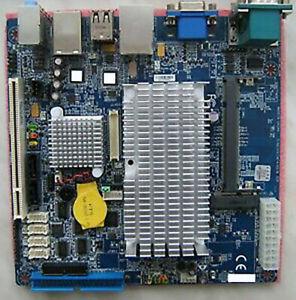 Intel Atom 1.6GHz Fanless D-SUB Dual LAN IDE SATA Mini PCIe Mini ITX Motherboard