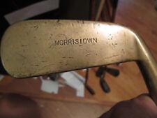 "Early Spalding ""MORRISTOWN"" Brass putter Circa 1898-1902"