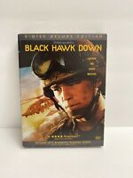 Black Hawk Down 3-Disc Deluxe Edition (DVD 2001) Josh Hartnett, Ewan McGregor