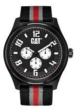 CAT WATCH/MENS/CASE:BLACK PVD/STRAP:NYLON - PP 169 68 132