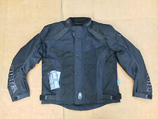 "RICHA Colt Mens Textile Motorcycle / Motorbike Jacket Size UK 44"" Chest (H143)"
