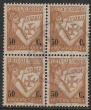 MOZAMBIQUE 1933 Lusiads  50 C block of 4 Good Used (P 48)