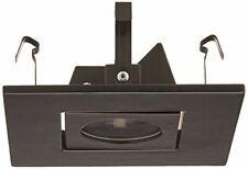 Wac Lighting Hr-D416-Bk Recessed Low Voltage Trim Adjust Spot