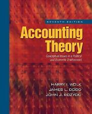 Accounting Theory: Conceptual Issues in a Political and Economic Environment, Ro