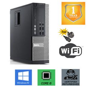 Dell 7010 SFF PC Core i5 Quad Core CPU Up To 16GB Ram Fast SSD Windows 10 Pro