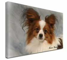 More details for papillon dog 'love you mum' x-large 30