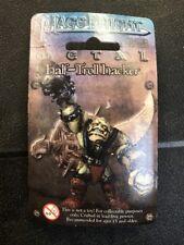 Mage Knight Half-Troll Hacker WZK539 Pewter Miniature Figure. Amazing!