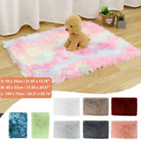 Soft Plush Pet Dog Cat Blanket Mat Bed Warmer Breathable Mattress Cushion Pad