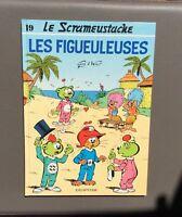 Le Scrameustache n°19. Les figueuleuses. Dupuis 1989 EO.