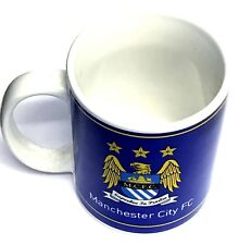 Manchester City Ceramic Mug Cup Retro Eagle Crest Official Football Gifts