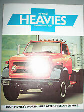 CHEVROLET CAMION MID RANGE heavies convenzionali serie 70,80 opuscolo SEP 1975