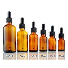 5-100ml Glas Reagenz Pipette Flasche Auge Dropper Drop Aromatherapie HK