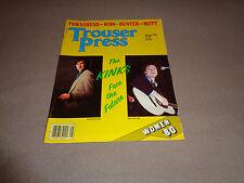 Trouser Press - Aug 1980 - KinKs Cover - The Who - Ian Hunter - Mott - Selecter