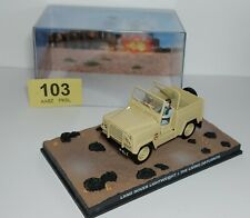 James Bond - Land Rover Lightweight - The Living Daylights - with Case/Diorama