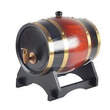 Oak Timber Wine Barrel Beer Whiskey Rum Port Keg Wooden Keg with Spigot 1.5L L