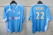 VINTAGE Maillot OM OLYMPIQUE de MARSEILLE Adidas NASRI n°22 away camiseta shirt