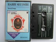 HARRY SECOMBE 'SACRED SONGS' CASSETTE TAPE, PAPER LABEL, TESTED, NR.MINT