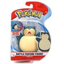 Pokemon Battle Feature SNORLAX Deluxe Action Figure